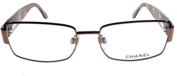 Chanel Mod 2088 Col 296(Brown) Size 52 Women Optical Frames Made in ...