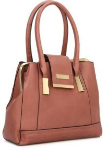 Souq United Colors Of Benetton Leather Bag For S Brown Baguettes Kuwait