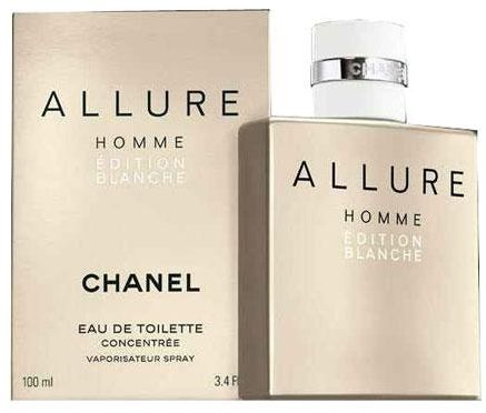 Allure Homme Edition Blanche by Chanel for Men - Eau de Toilette, 100ml    Souq - UAE 815ec861376