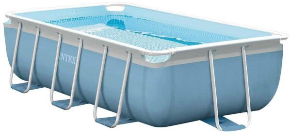 Intex prism frame rectangular swimming pool 28314 souq uae for Intex rectangular swimming pool