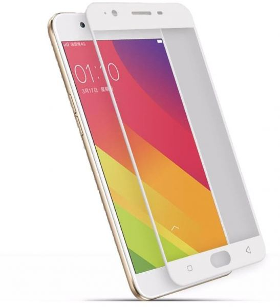 Tempered 3d Glass Screen Protector For for Oppo F1s 5.5inch - White | Souq - UAE