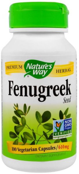 ... Fenugreek Seed, 610 Mg, 100 Veggie Caps. by Nature's Way, Dietary Supplements - 1 review