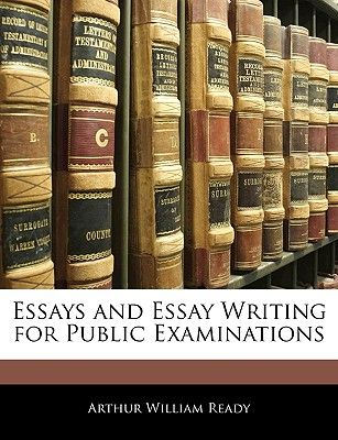 Sample Apa Essay Paper  Aed Example Thesis Statements For Essays also High School Essay Samples Essays And Essay Writing For Public Examinations By Arthur William  Importance Of Good Health Essay