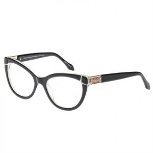 1da105602f9 Versace 19.69 Cat Eye Women s Eyewear Frames - Vw1507 C1 - 53-18-135 Mm