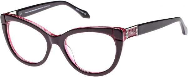 Souq | Versace 19.69 Cat Eye Women\'s Eyewear Frames - Vw1507 C3 - 53 ...