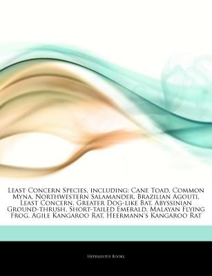 Articles On Least Concern Species Including Cane Toad Common Myna