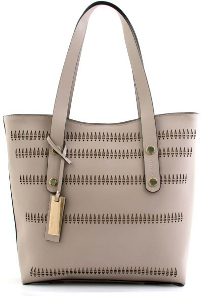 Ripani Rip6623hhaw16025 Tote Bag For Women Leather Beige