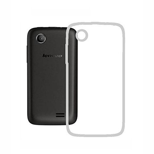 sale retailer 6c51f e3992 Silicone Back Case Cover By Ineix For lenovo A369i - CLEAR