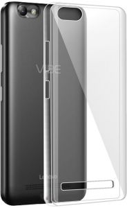 Silicone Back Case Cover By Ineix For Lenovo Vibe C A2020 - CLEAR
