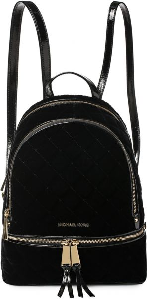 michael kors 30f6gezb2c 001 md quilted backpack for women velvet rh uae souq com