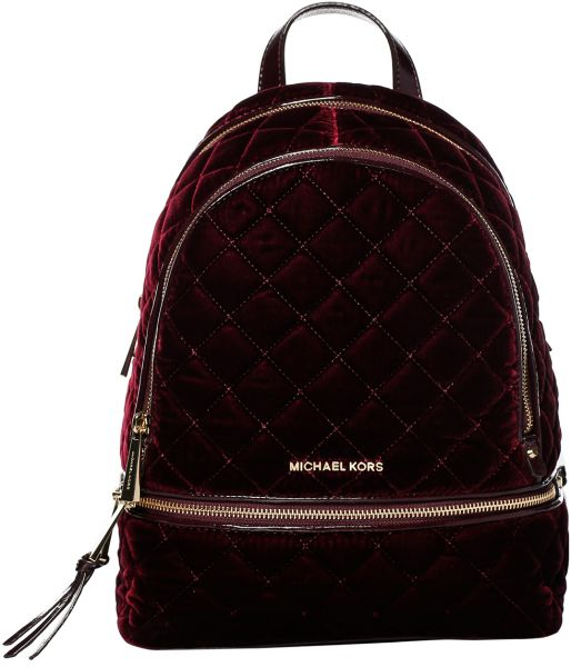 michael kors 30f6gezb2c 633 md quilted backpack for women velvet rh uae souq com