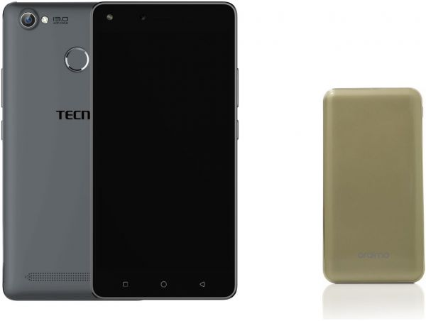 Tecno W5 Dual SIM - 32GB , 2GB RAM , 4G LTE ,Grey with