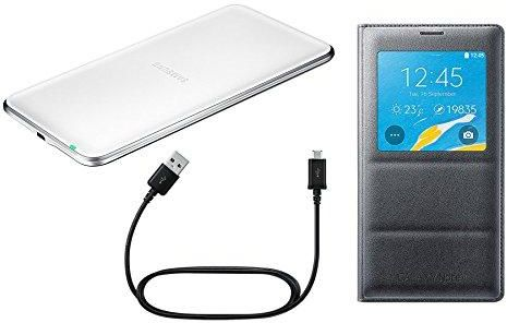 newest 29026 386dd Samsung Galaxy Note 4 Wireless Charging Kit (Pad, S View Charging ...