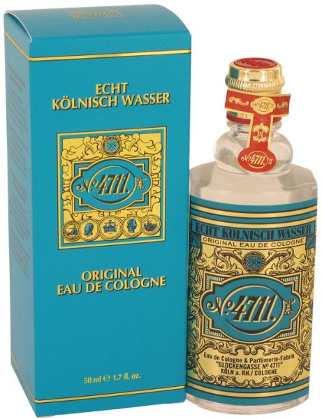 No. 4711 Original by Echt Kolnisch Wasser for Men & Women - Eau de Cologne, 50ml