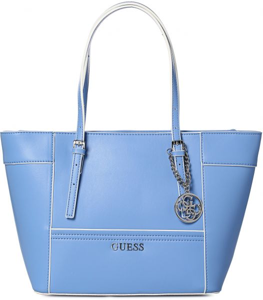 Guess Tote Bag For Women Blue