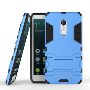 Xiaom Redmi Note 4 Hybrid Armor Protective Case Housing ShockProof Cover -Blue