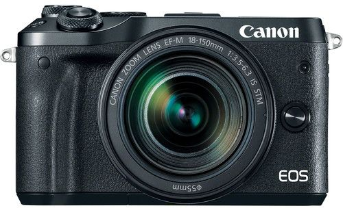 Canon EOS M6  EF-M 18-150mm F3.5-6.3 IS STM lens , 24.2 MP Mirrorless Digital Camera, Black