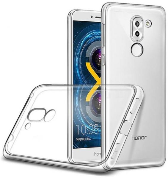 timeless design 5d9dc ece3a Generic Back Case Cover For Huawei GR5 2017 - Clear