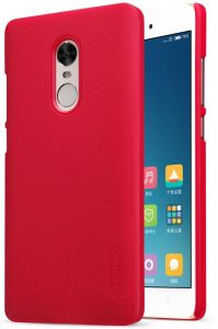 XIAOMI RedMi Note 4X Nillkin Super Frosted Shield Back Case [Red Color]