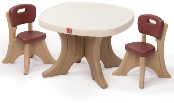 sc 1 st  Souq.com & Step2 Traditions Table and Chairs Set 3 Pieces - 896800 | Souq - UAE