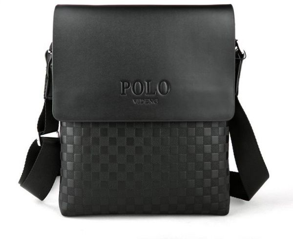 POLO VIDENG Bag For Men,Black - Messenger Bags   Souq - UAE 25e3931b5e