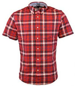 603eb1caa Tommy Hilfiger Red Shirt Neck Shirts For Men