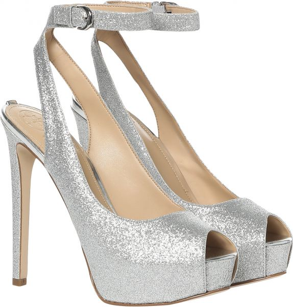 1f0722758aa Guess Heel Sandals for Women - Silver