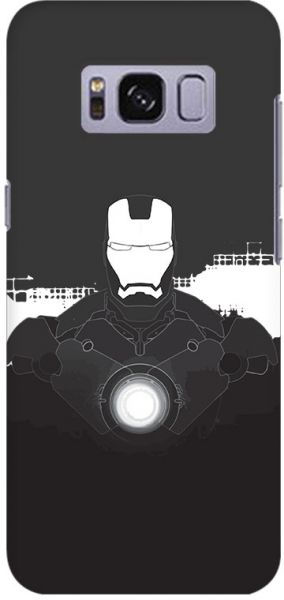 on sale 8e28b 67787 Stylizedd Samsung Galaxy S8 Plus Slim Snap Case Cover Matte Finish - Iron  Man Beam