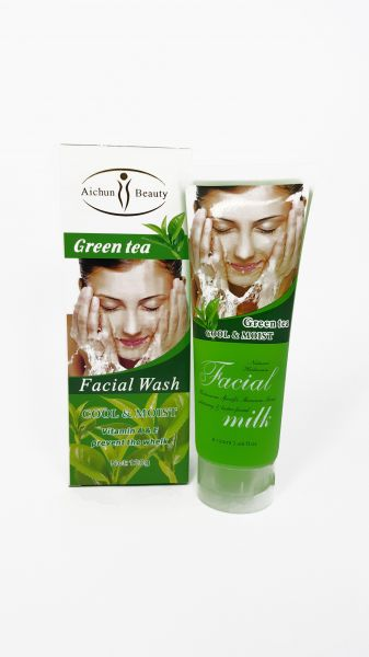 Opinion only Green tea facial cleanser will your