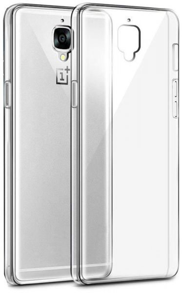 online retailer b3757 eaa69 Silicone Case Cover For OnePlus 3T - Clear