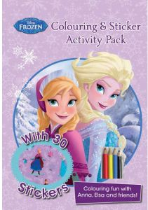 Disney Frozen Coloring And Sticker Activity Pack Fun With Anna Elsa Friends