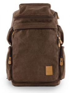 edf53739ebfa Men women Fashion Big backpack Canvas Leisure Travel Bag computer bag  School Moy-BR13