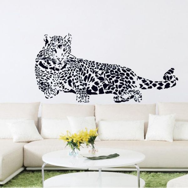 removable big size environmental wall sticker tv sofa bedroom