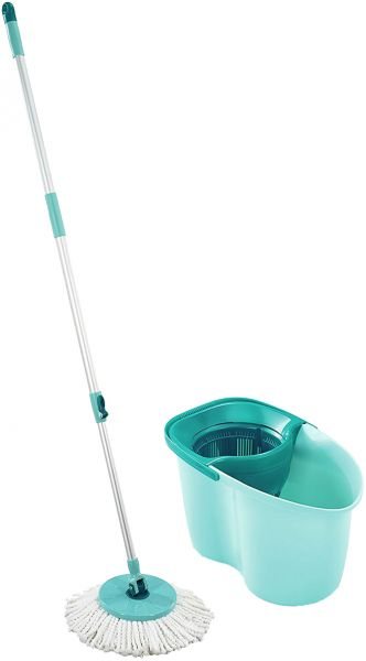 Leifheit Active Clean Twist Spin Mop And Bucket Set Souq Uae