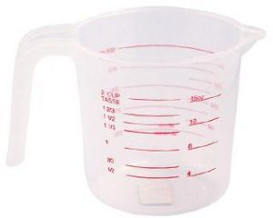 RoyalFord RF5469, 500 Ml Measuring Cup , White