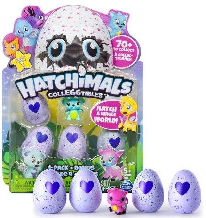 Hatchimals CollEGGtibles 4 Egg Pack With Bonus