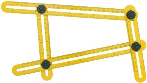 Angle Ruler Measurement Tool Izer Template Multi Measuring General Tools