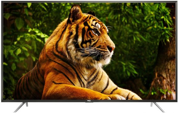 Tcl 65 Inch 4k Uhd Android Smart Led Tv Golden Metallic Frame