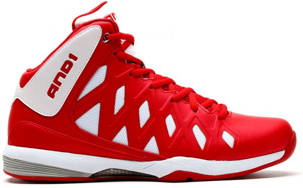 AND1 Unbreakable Mid Basketball Shoes for Men, Multi Color