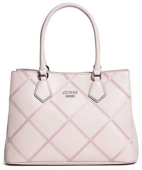 Guess Hartzel Grosgrain Carryall Bag Blush