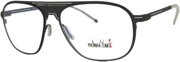 Buy Manhattan Frame Mod.8340 Col.142 Gunmetal - Glasses Frames | UAE ...