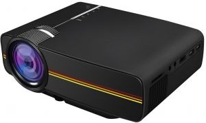 Mini Portable Yg400 Projector 1080p With 1200 Lumens 130 Large Screen For Home Cinema