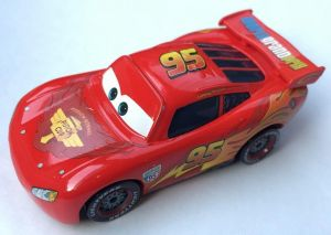 Mattel Disney Pixar Cars 2 Lightning Mcqueen Diecast Toy Car 1 55