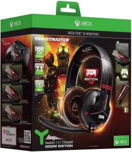 b7fd2a8f7 Thrustmaster Y-350X 7.1 Cuffie Powered Doom Edition Gaming Headset (Xbox One/PC  DVD)