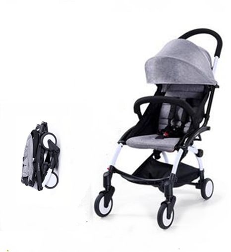 Baby Time Mini portable Stroller (grey)  5c4fd7129d