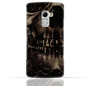 Lenovo Vibe K4 Note / A7010 / Lenovo Vibe X3 Lite TPU Silicone Case With Dark Skeleton Pattern Design.