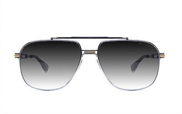 4ad1089808b Dita Victoire DRX 2049 18K Gold and Black sunglasses Silver gradient ...