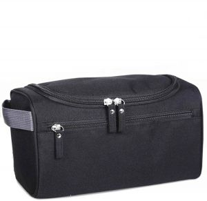 7cddbfcb26a9 Travel Toiletry Bag Cosmetic Pouch Organizer Black