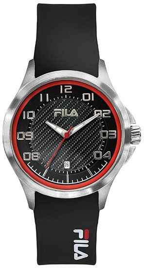 Fila sport watch for men rubber band 38 088 101 ksa souq for Fila watches
