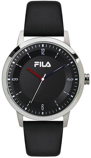 Buy fila sport watch for men leather band 38 153 001 watches ksa souq for Fila watches